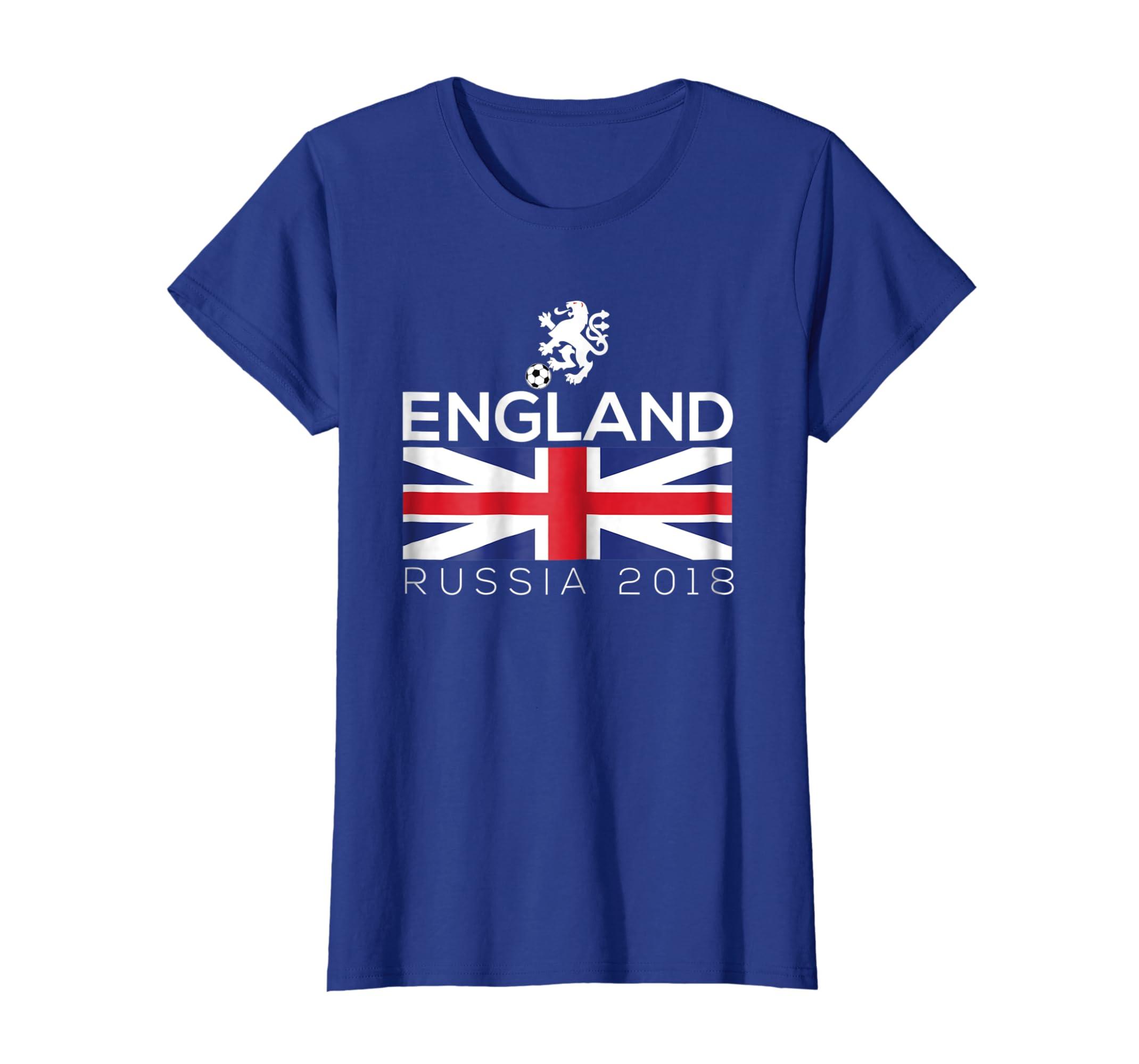 083a5cead Amazon.com: 2018 England British Soccer Fan Shirt Football Jersey Shirt:  Clothing