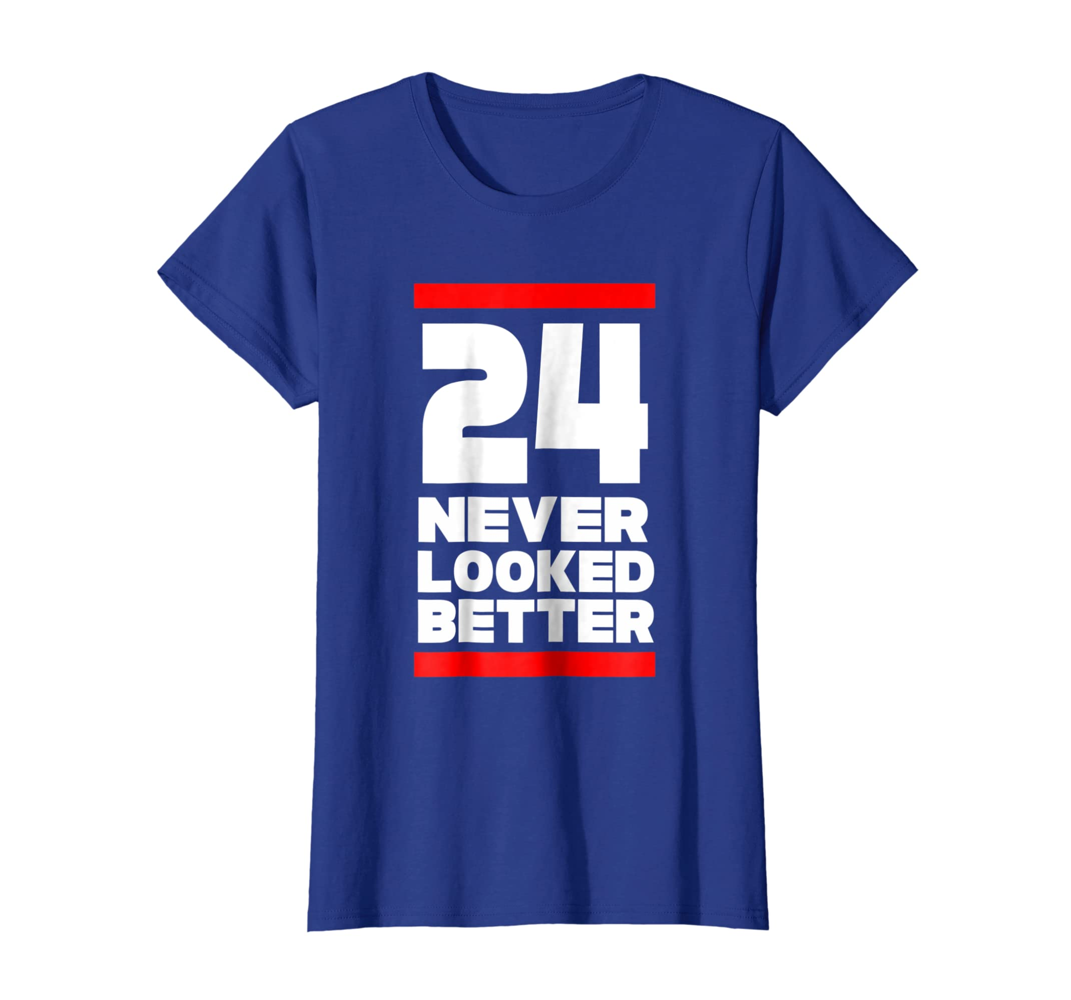Amazon 24th Birthday Gift 24 Never Looked Better For Him Or Her Tee Clothing