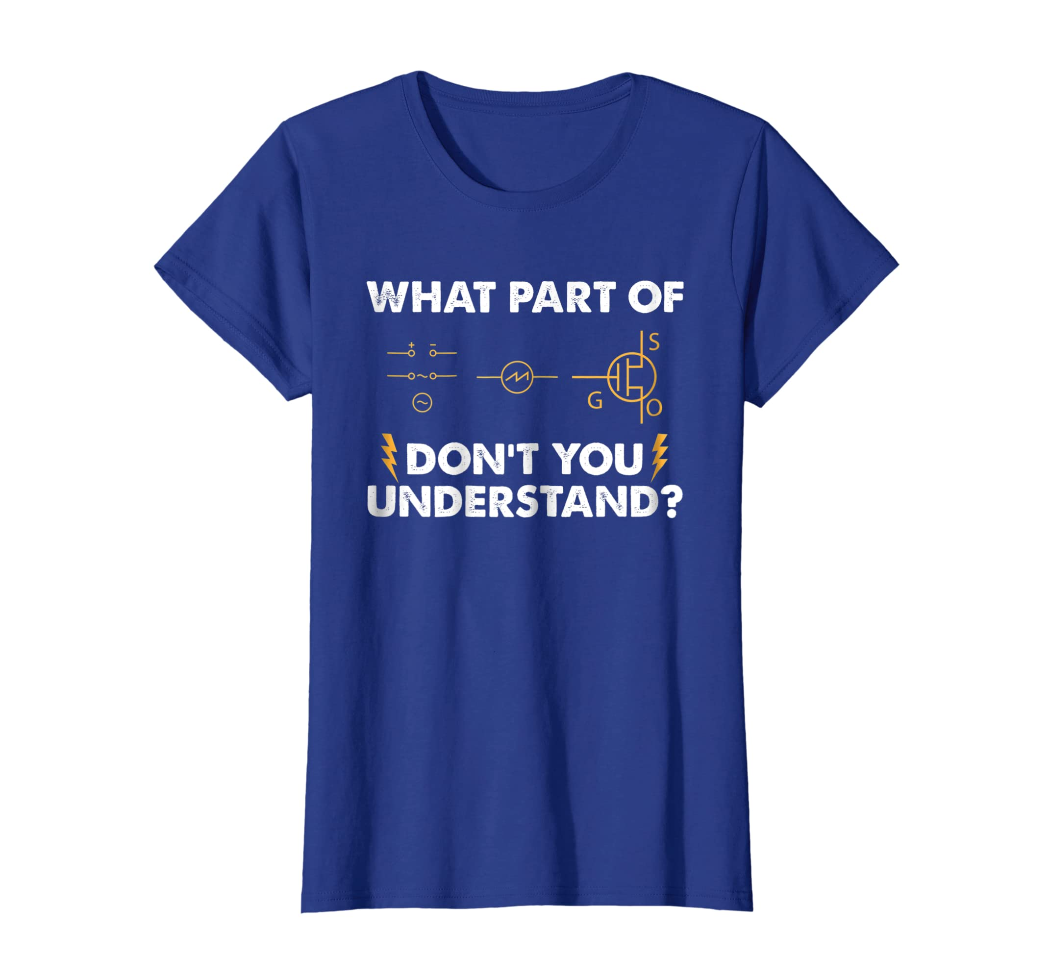 9ececfe2 Amazon.com: Electrical Engineer Shirts What Part Funny Electrician Tees:  Clothing