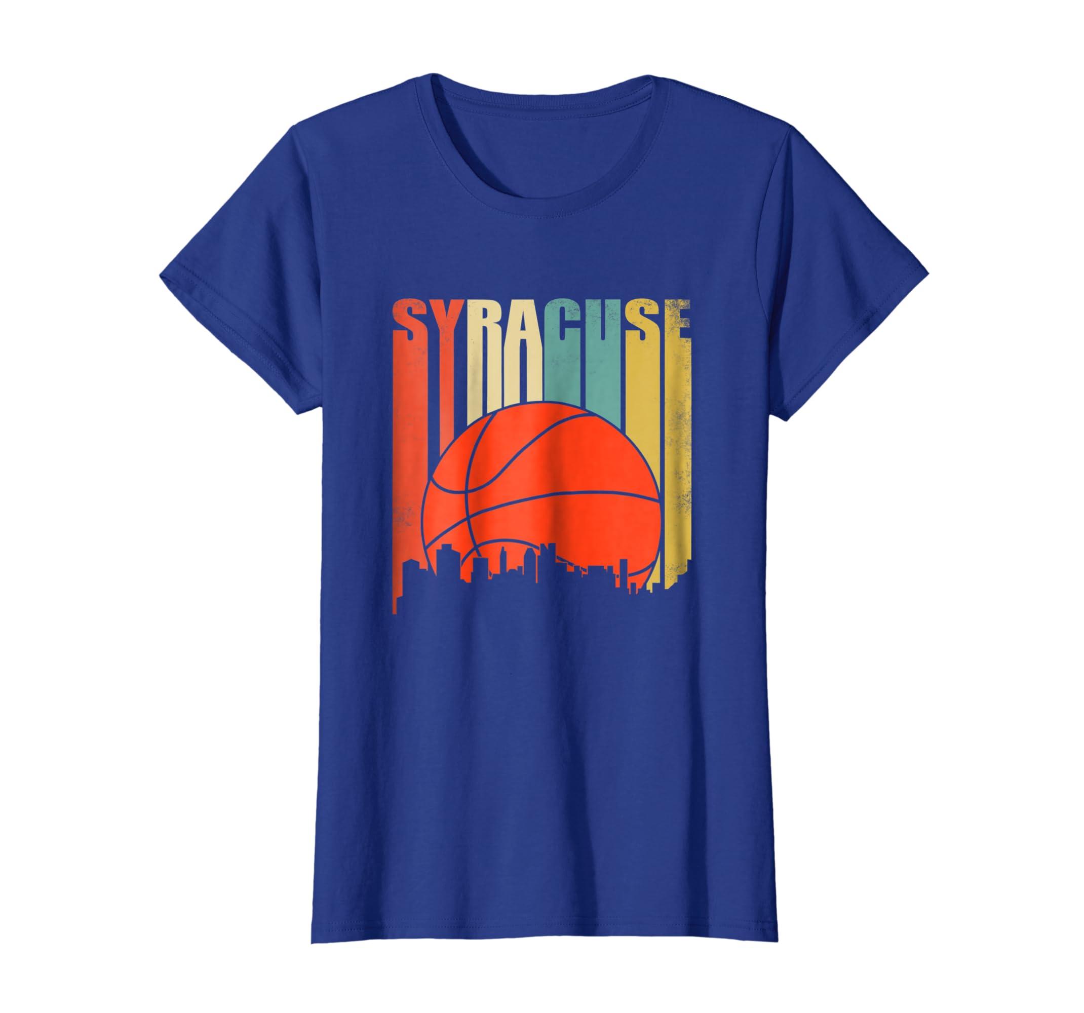 best service 74260 04ebb Vintage Syracuse Basketball Shirt New York