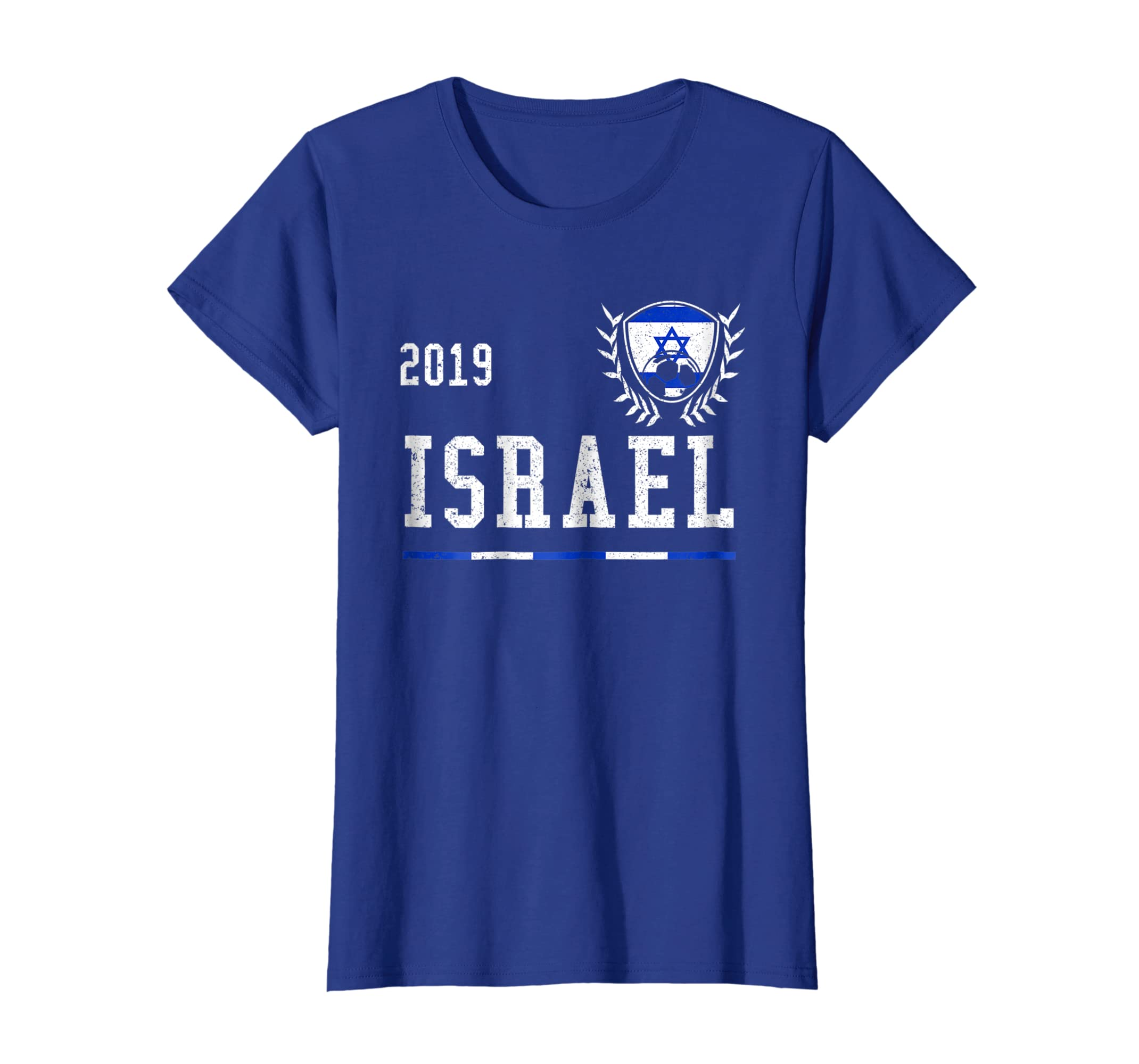 483349e80 Amazon.com  Israel Football Jersey 2019 Israelite Soccer T-shirt  Clothing