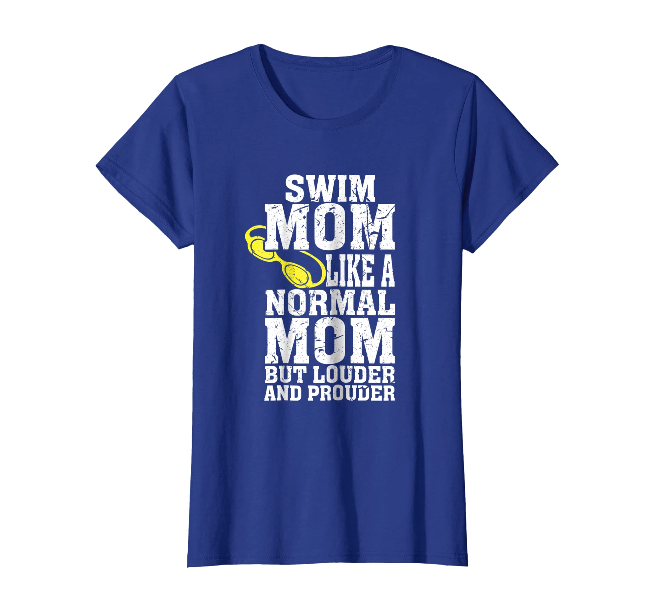 486639ba2786 Amazon.com  Swim Mom With Goggles T Shirt Merchandise For Swimmer Mother   Clothing
