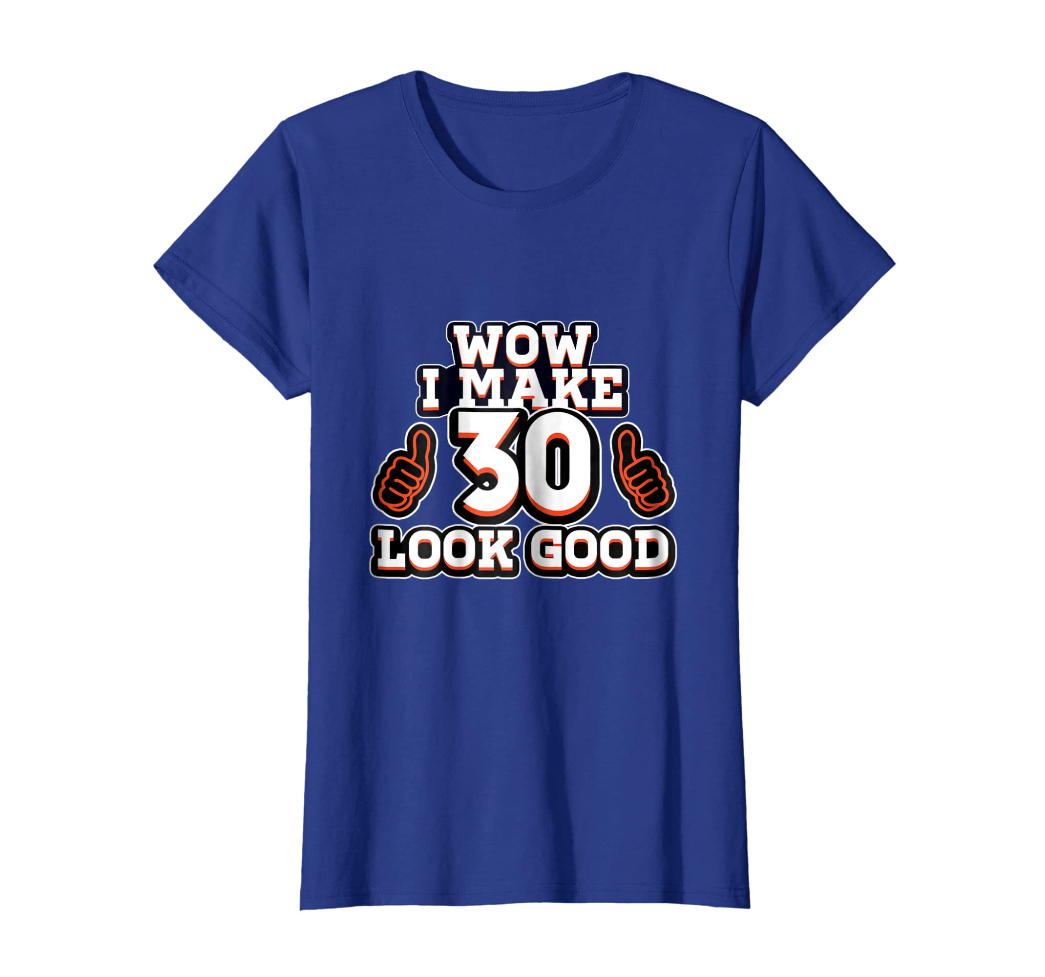 Amazon Best Birthday Gift For 30 Year Old Men Women Funny T Shirt Clothing