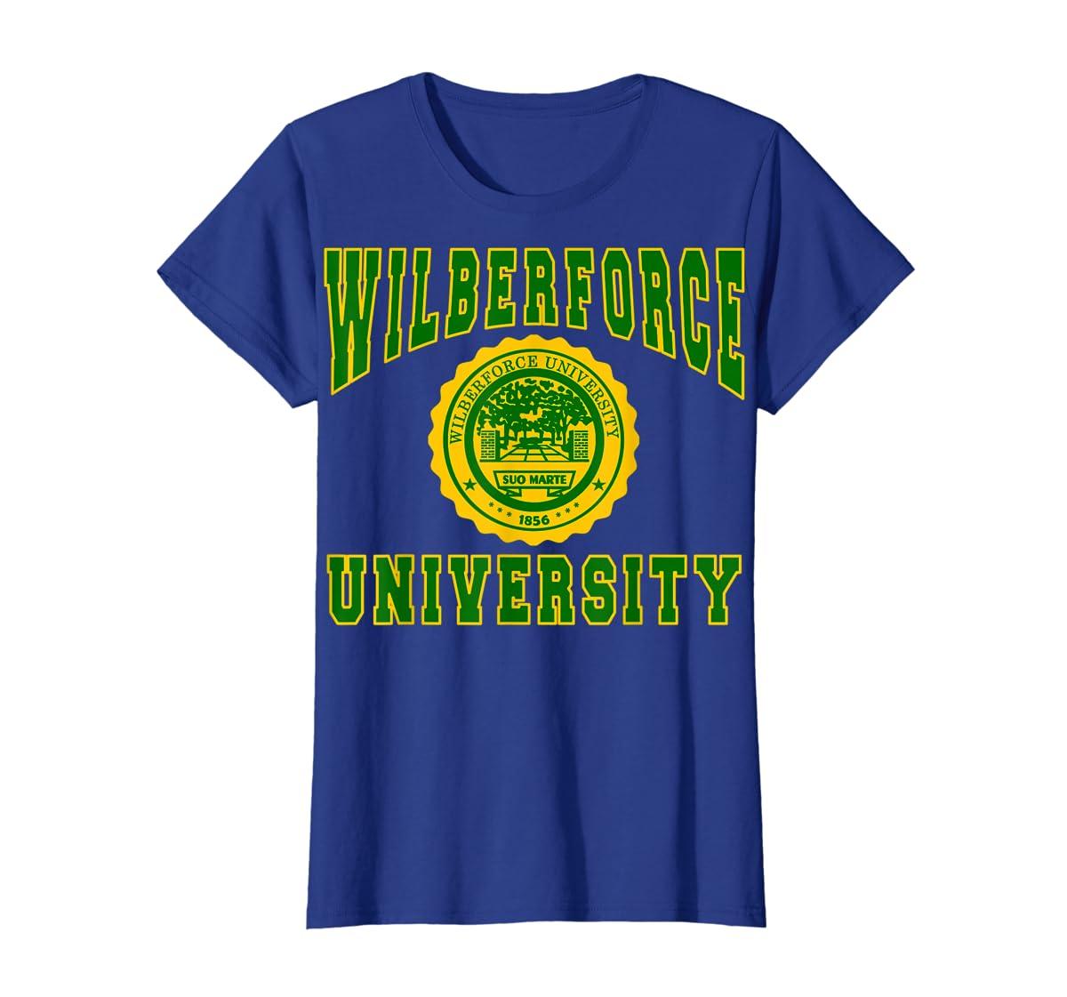 Wilberforce 1856 University Apparel - T shirt-Women's T-Shirt-Royal