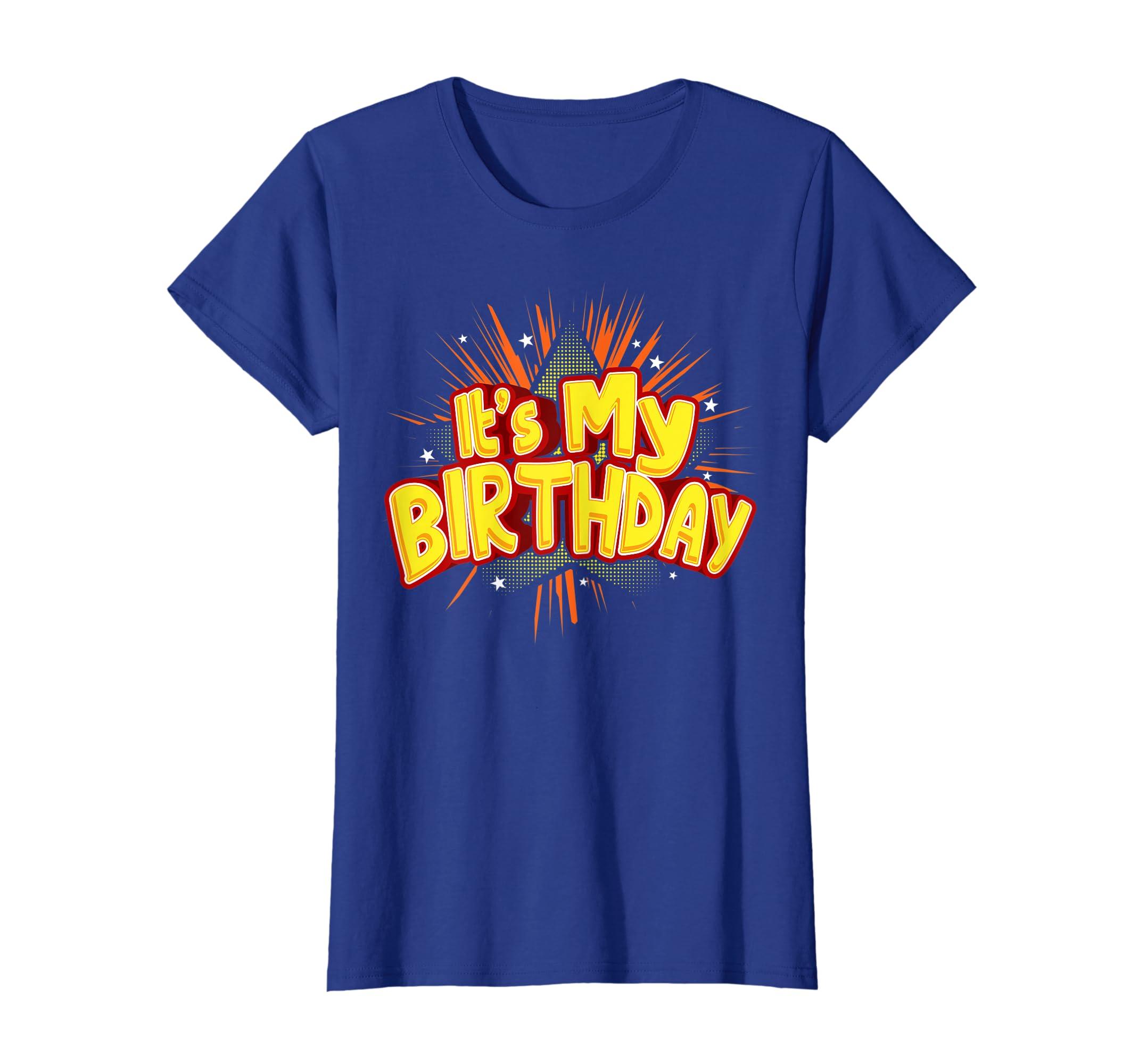 Amazon Its My Birthday Shirt For Boys