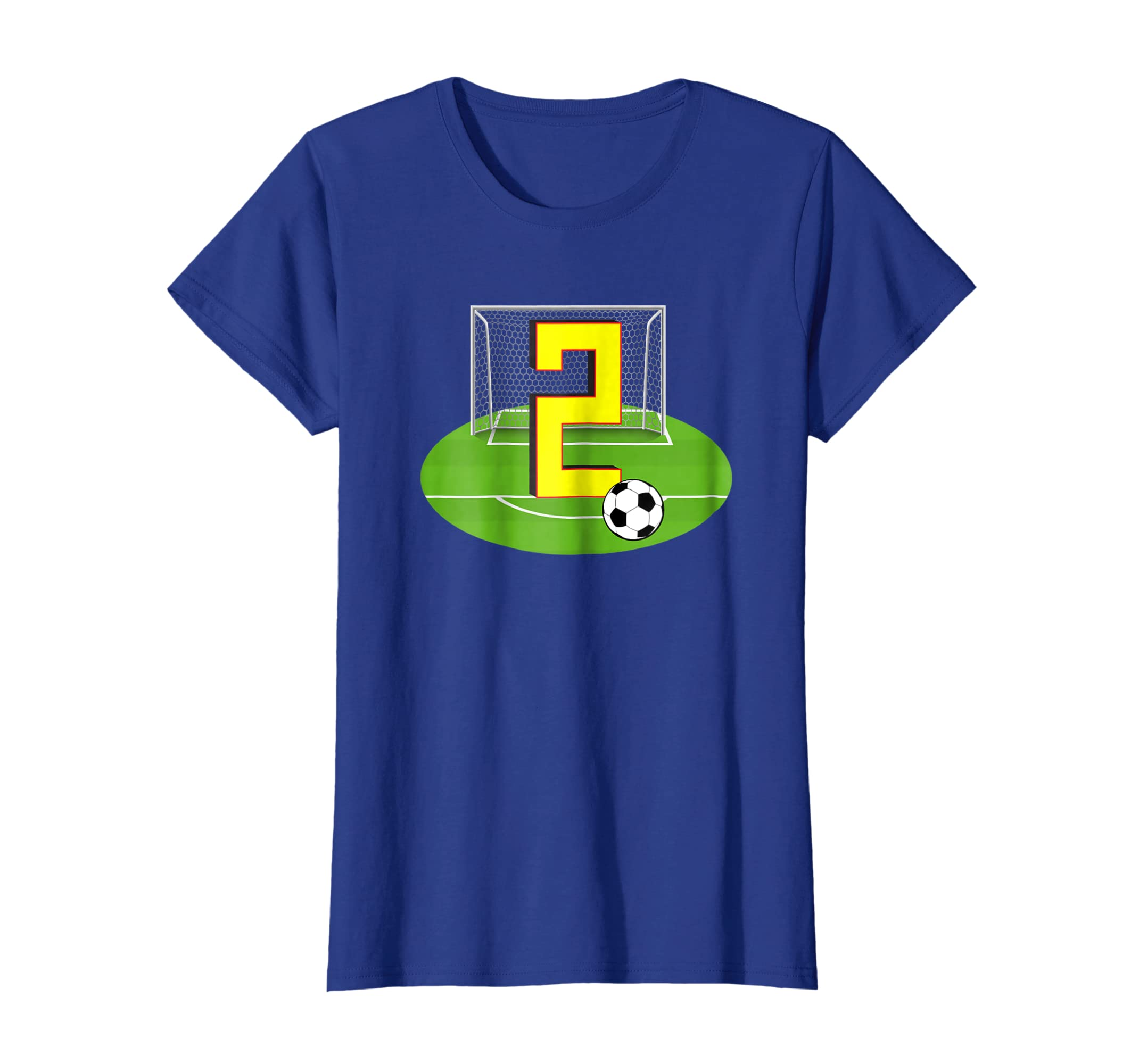 Amazon Number 2 2nd Birthday Soccer T Shirt For Years Old Clothing