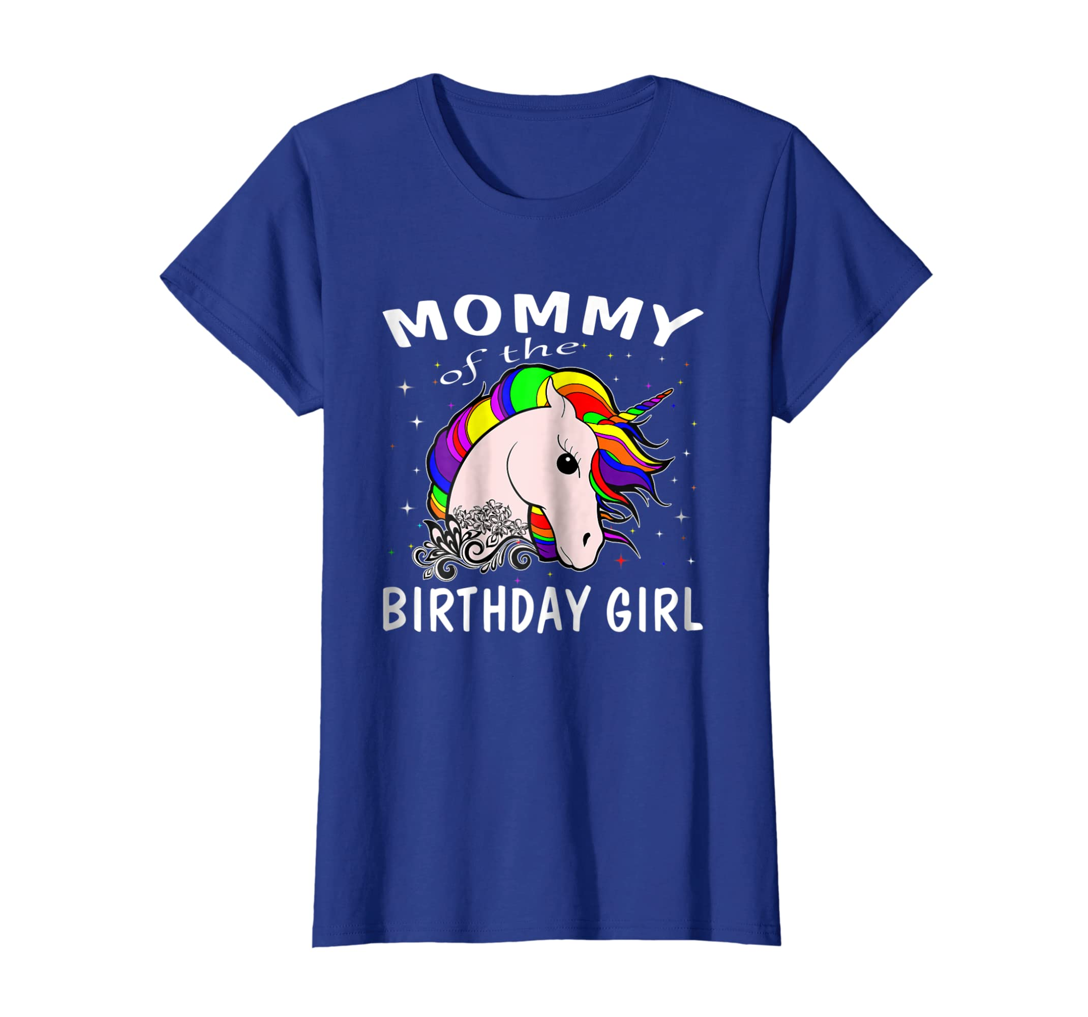 Amazon Mommy Of The Birthday Girl Unicorn T Shirts Gifts Mom Mother Clothing