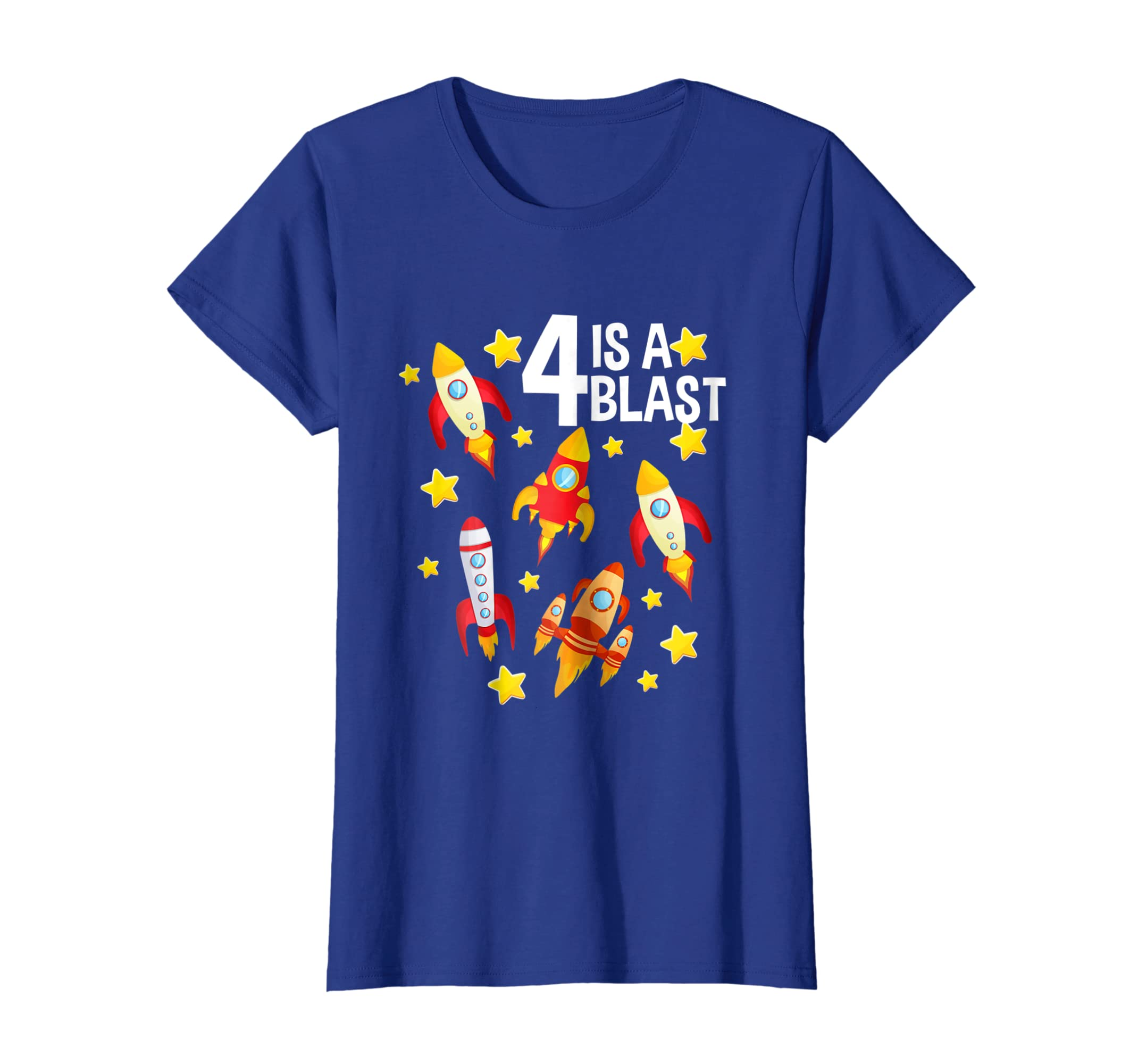 Amazon Boys 4th Birthday Space Shuttles T Shirt For Toddlers Clothing
