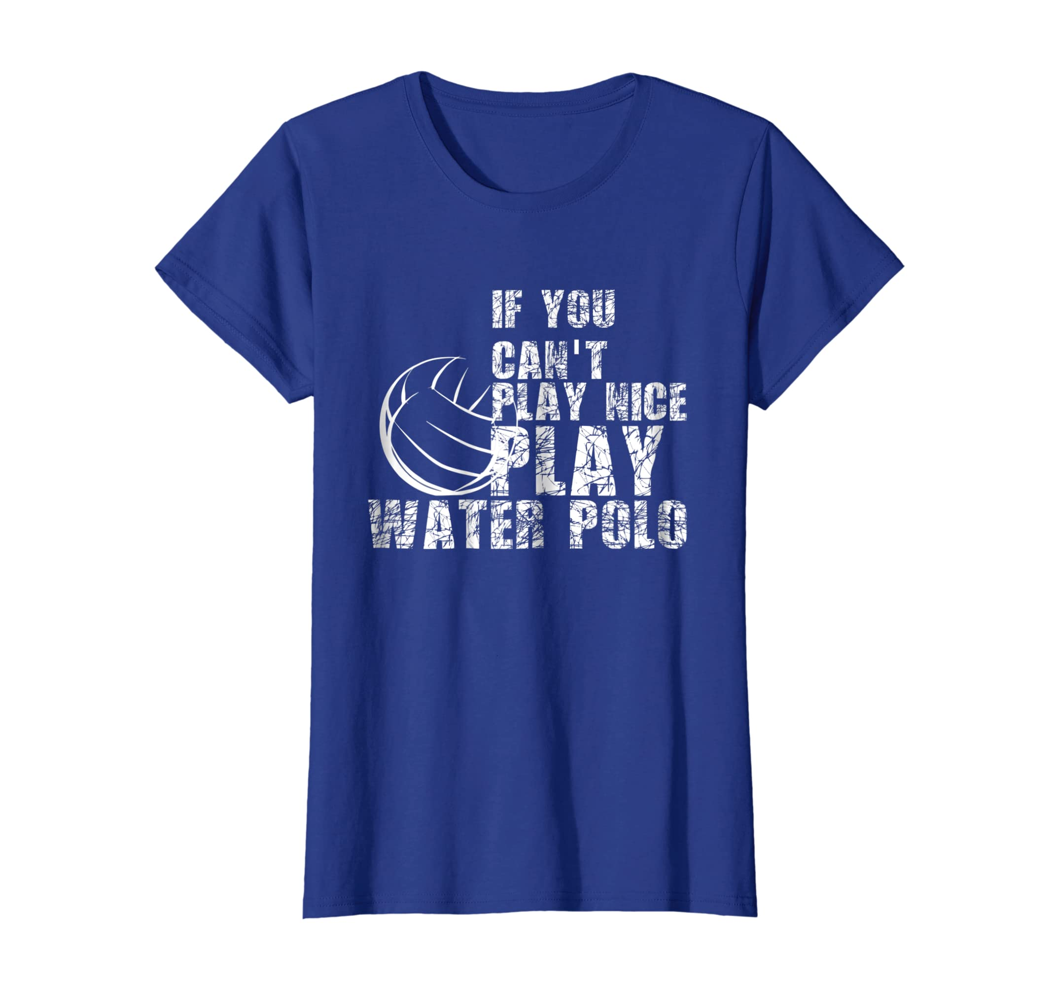 93d08f343 Amazon.com: Funny Water Polo T-Shirt for men and women: Clothing