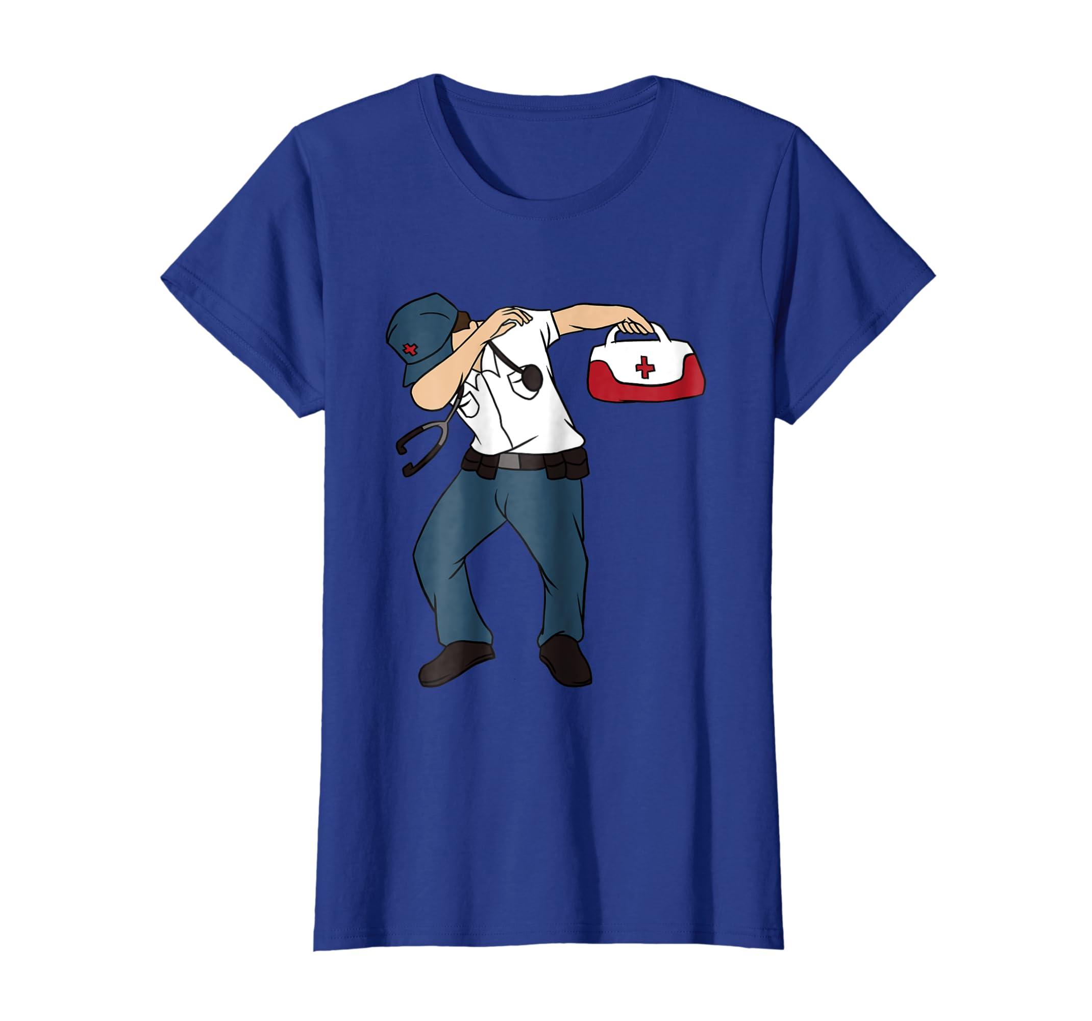 09744372 Amazon.com: Dabbing Paramedic T-Shirt - Funny Medical Tech Dab Gift Tee:  Clothing