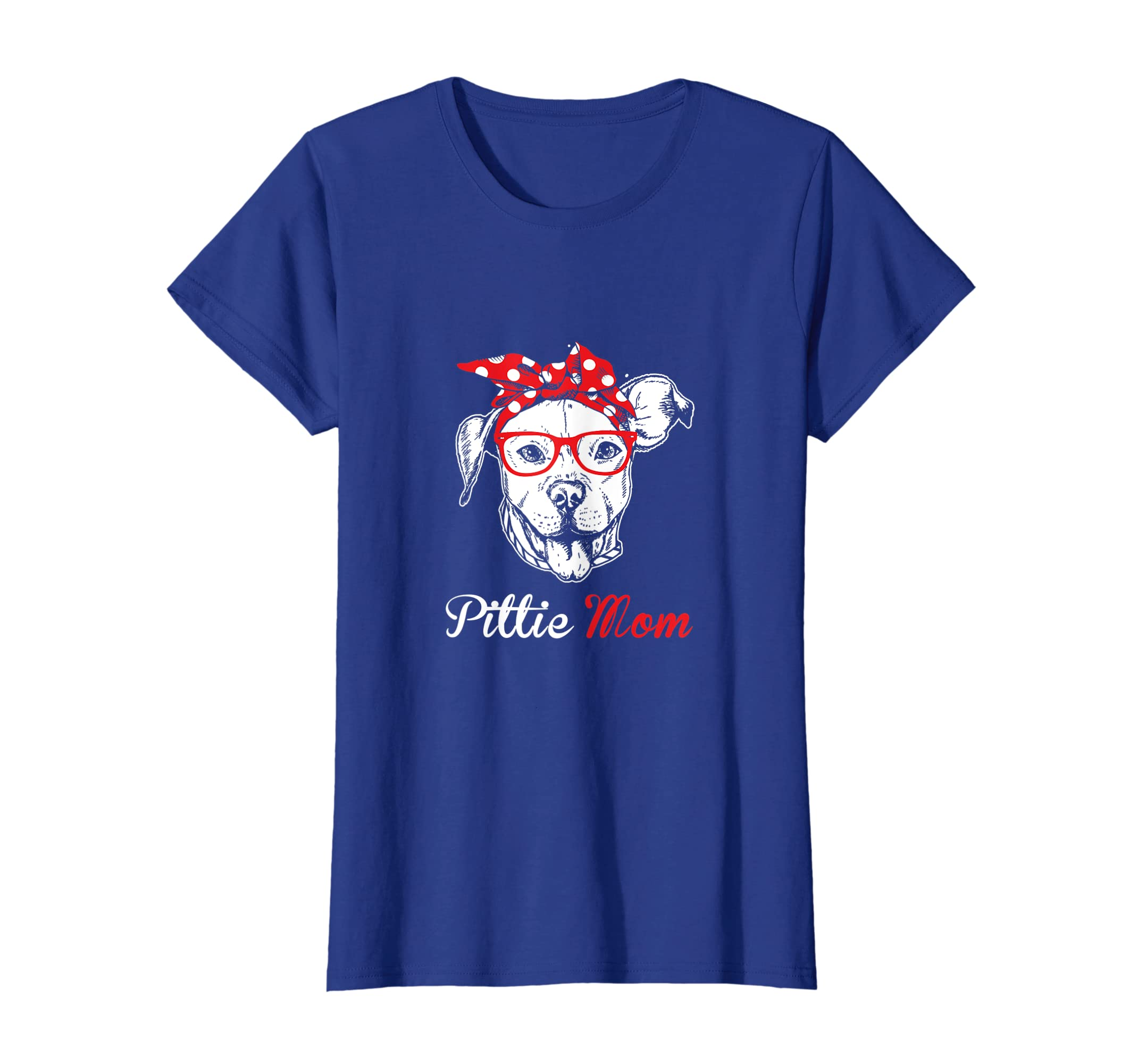 Pittie Mom Pit Bull Dog Lover Owner Women Mothers Day Shirt-Yolotee