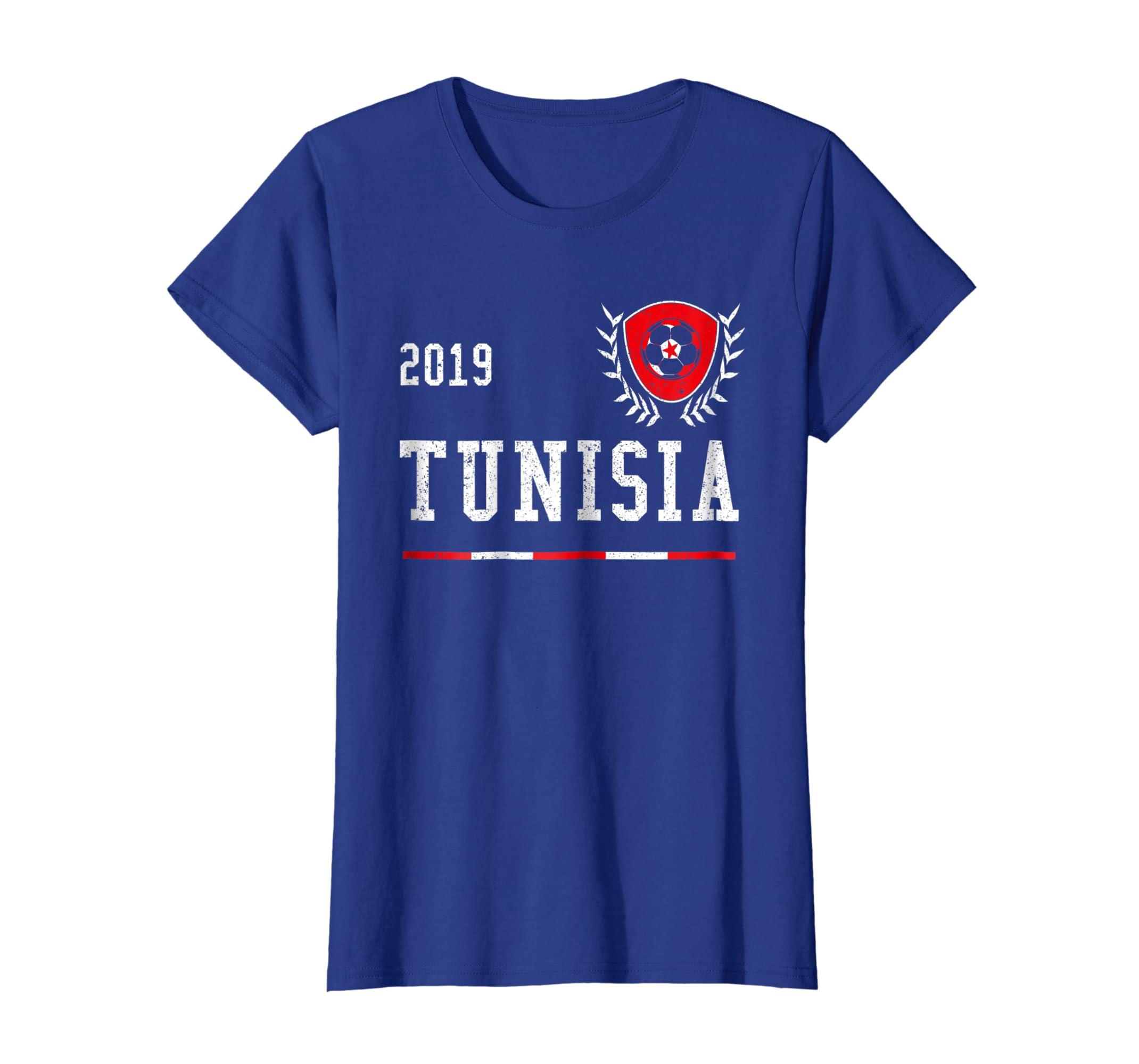 e5aed7945 Amazon.com  Tunisia Football Jersey 2019 Tunisian Soccer T-shirt  Clothing