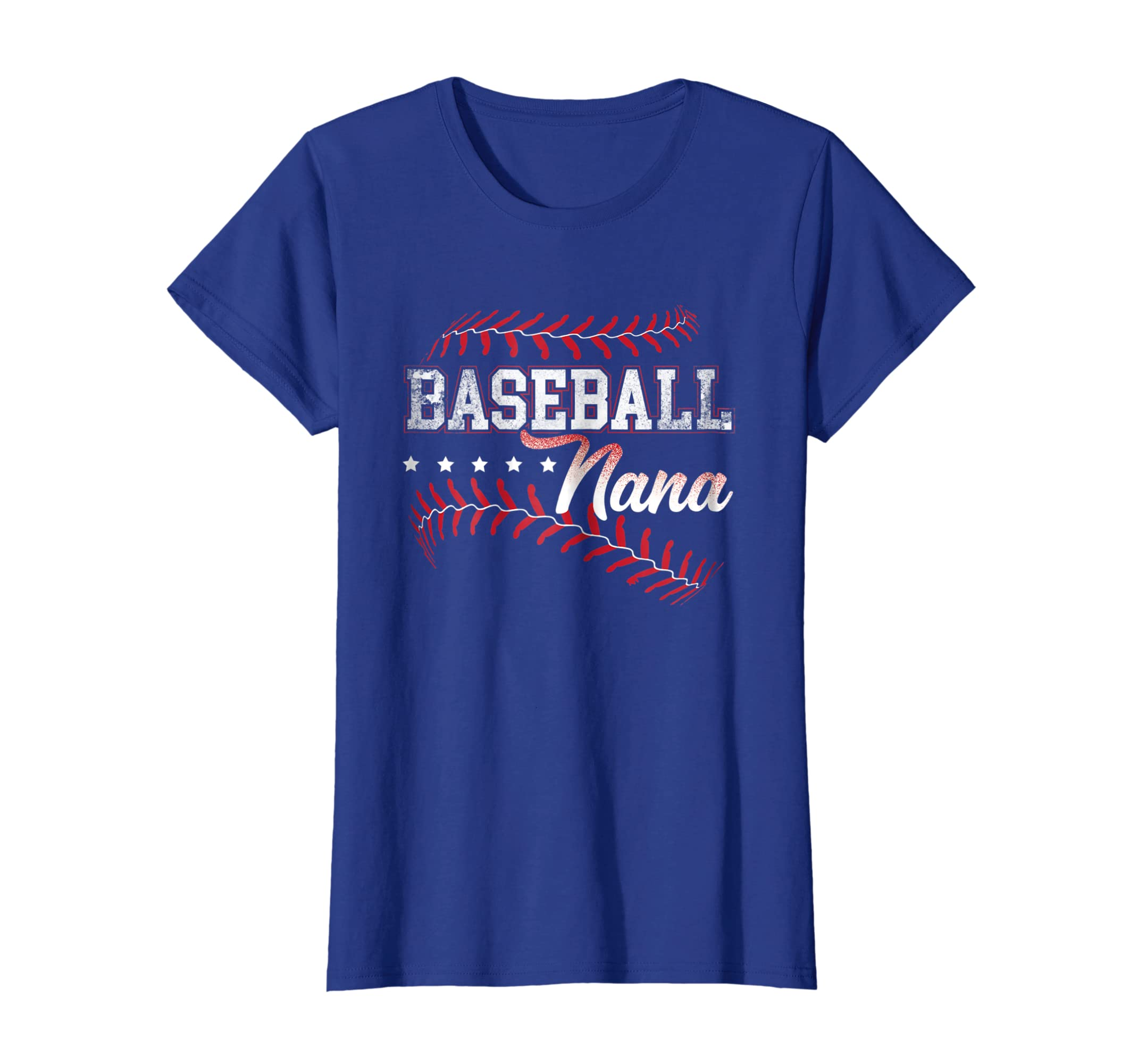 Baseball Nana T-Shirt Baseball Grandma Gift Shirts-Awarplus
