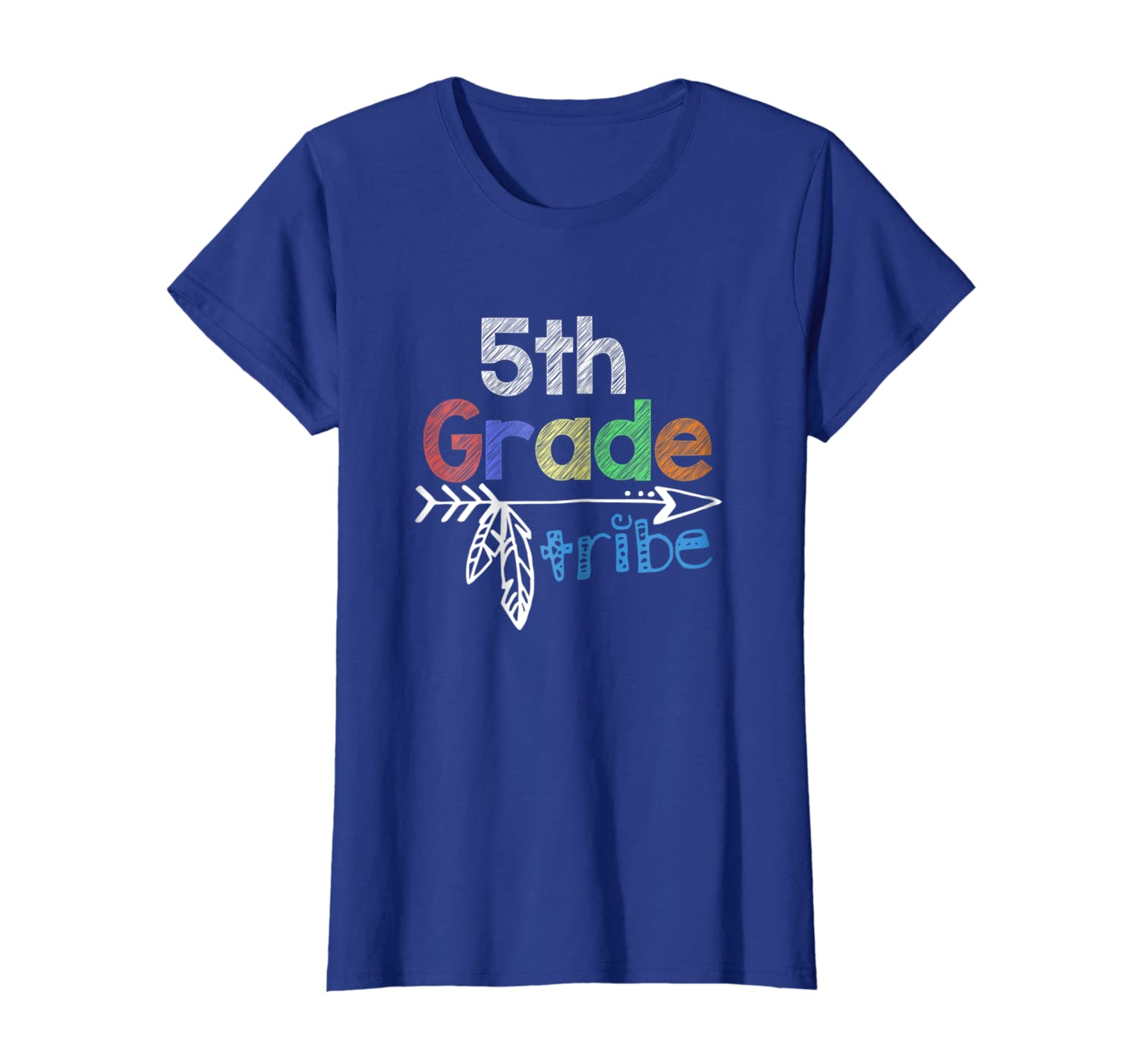Team 5th Fifth Grade Teacher Tribe Back To School T-Shirt-Loveshirt