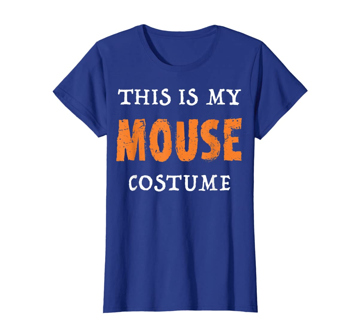 Funny This Is My Mouse Costume Halloween  T-Shirt-Women's T-Shirt-Royal