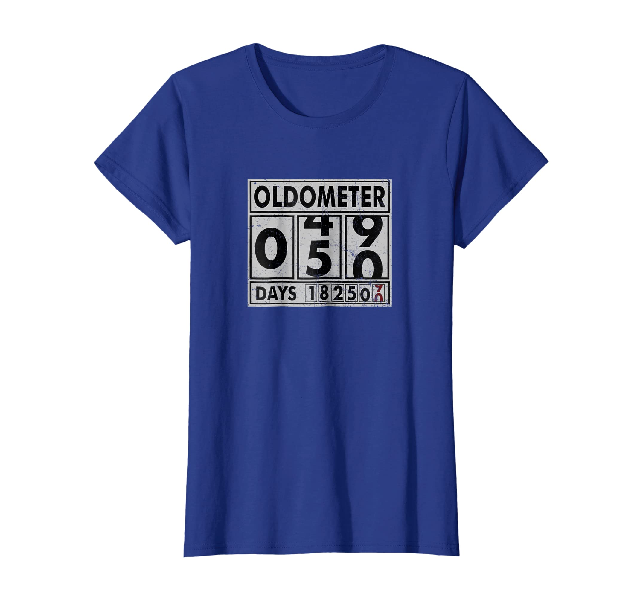 eb0a38e1 Amazon.com: OLDOMETER 50 Years Old Made In 1968 50th Birthday T Shirt:  Clothing