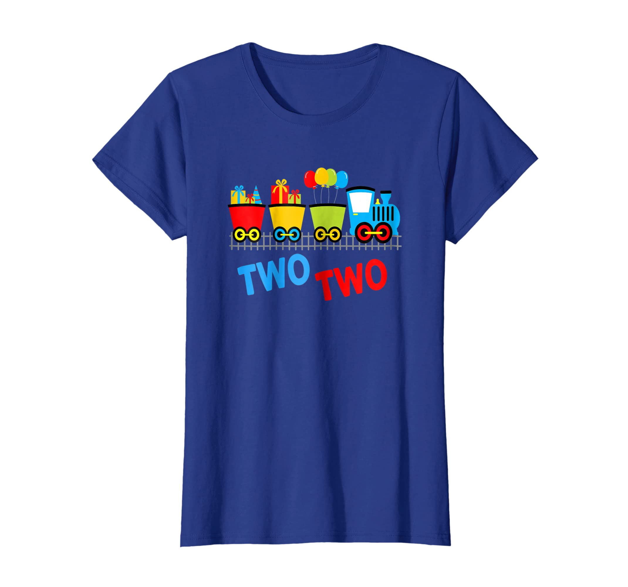 Amazon 2nd Birthday Tshirt Trains Second Party Two Year Clothing