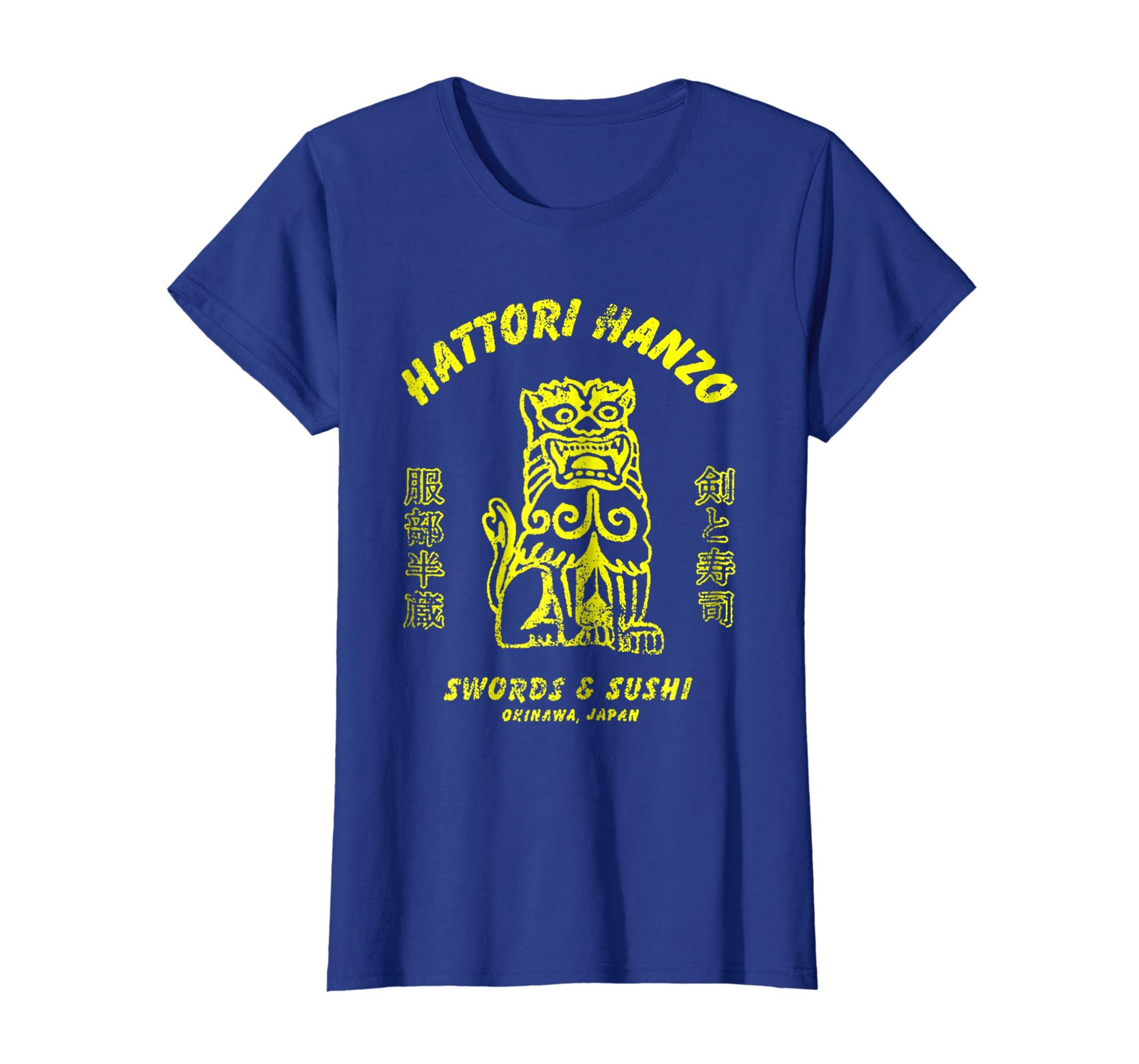 47ac1fc7b8d Amazon.com  Hattori Hanzo Swords and Sushi T-Shirt  Clothing