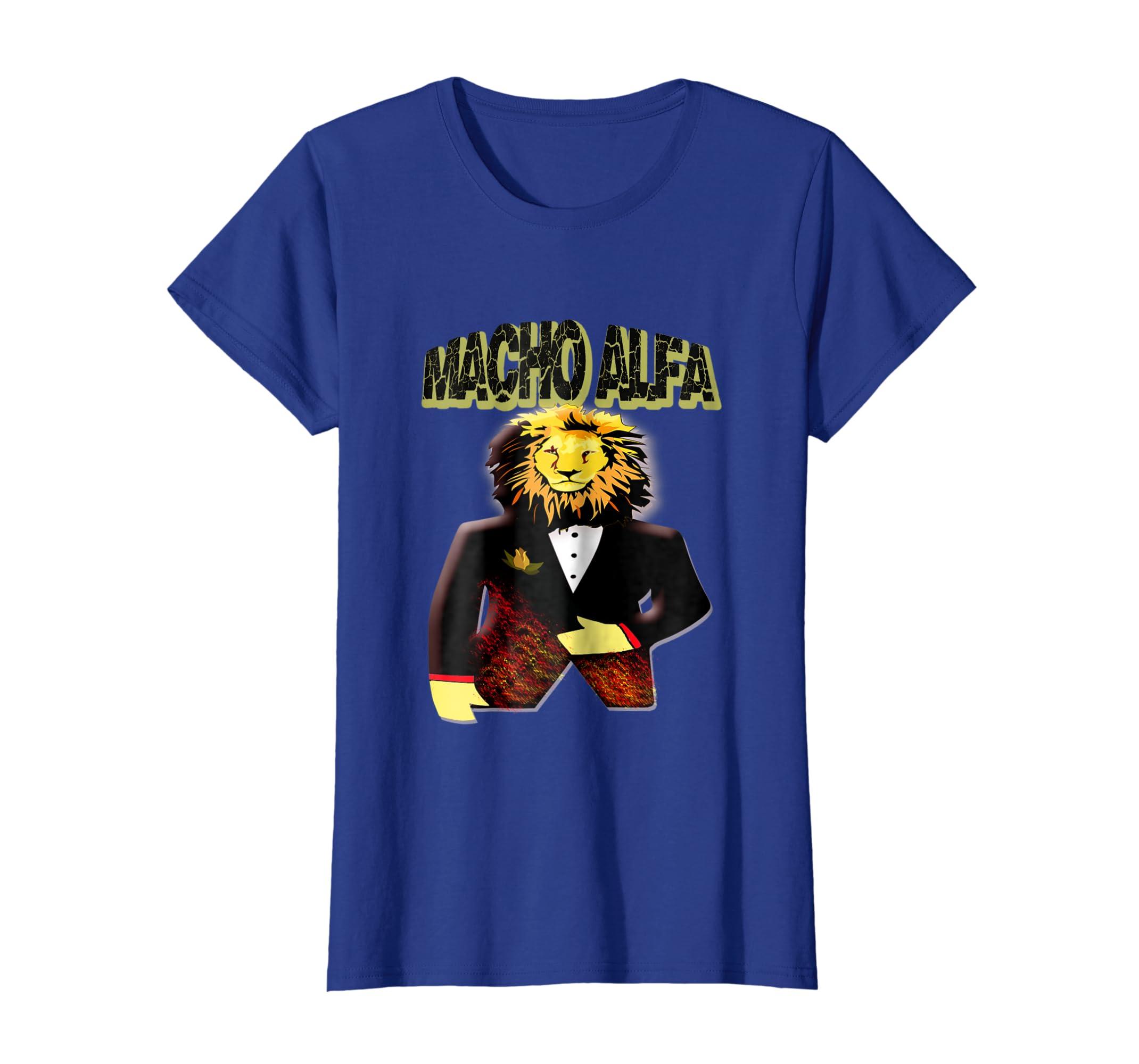Amazon.com: Leon La camiseta para el MACHO ALFA. Regalos Divertidos: Clothing