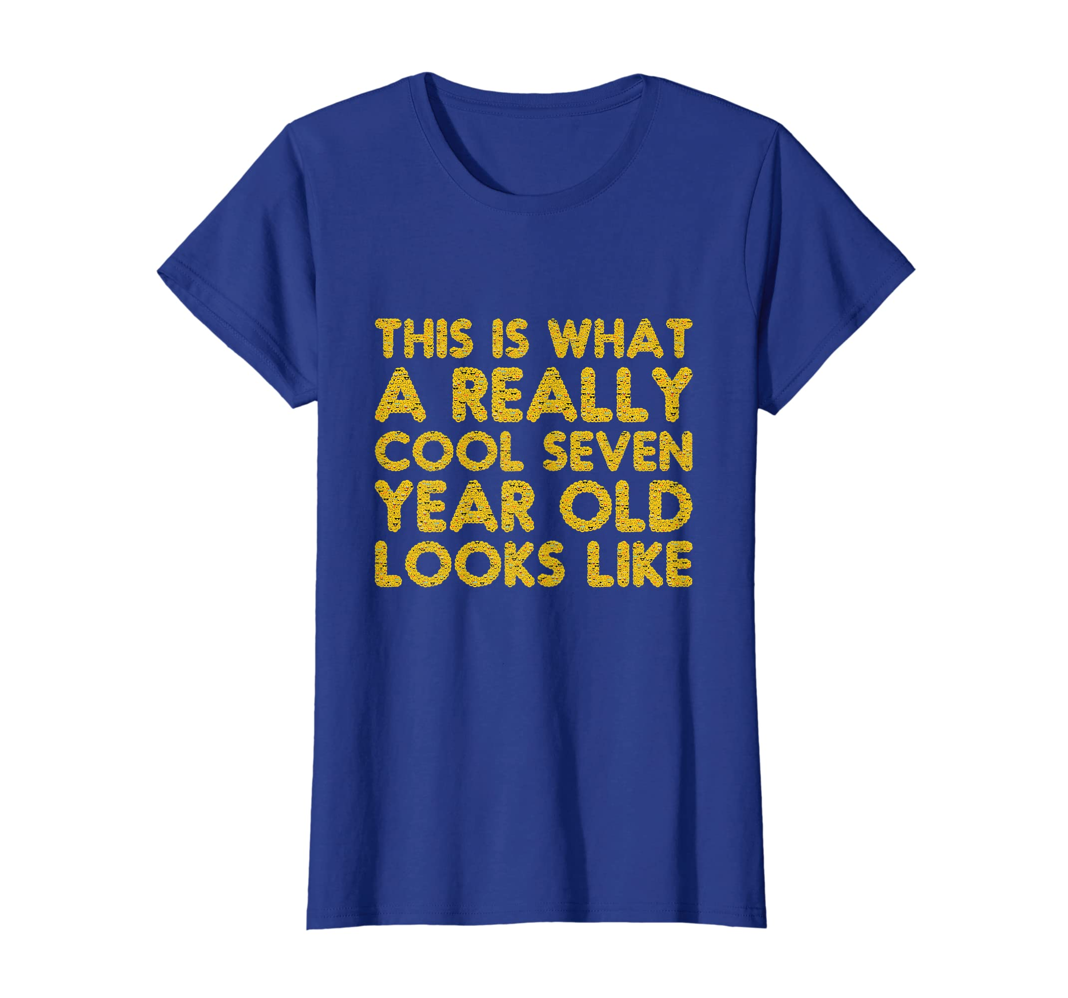 Amazon 7th Birthday Shirt Gift Boy Girl Age Seven 7 Year Old Son Clothing