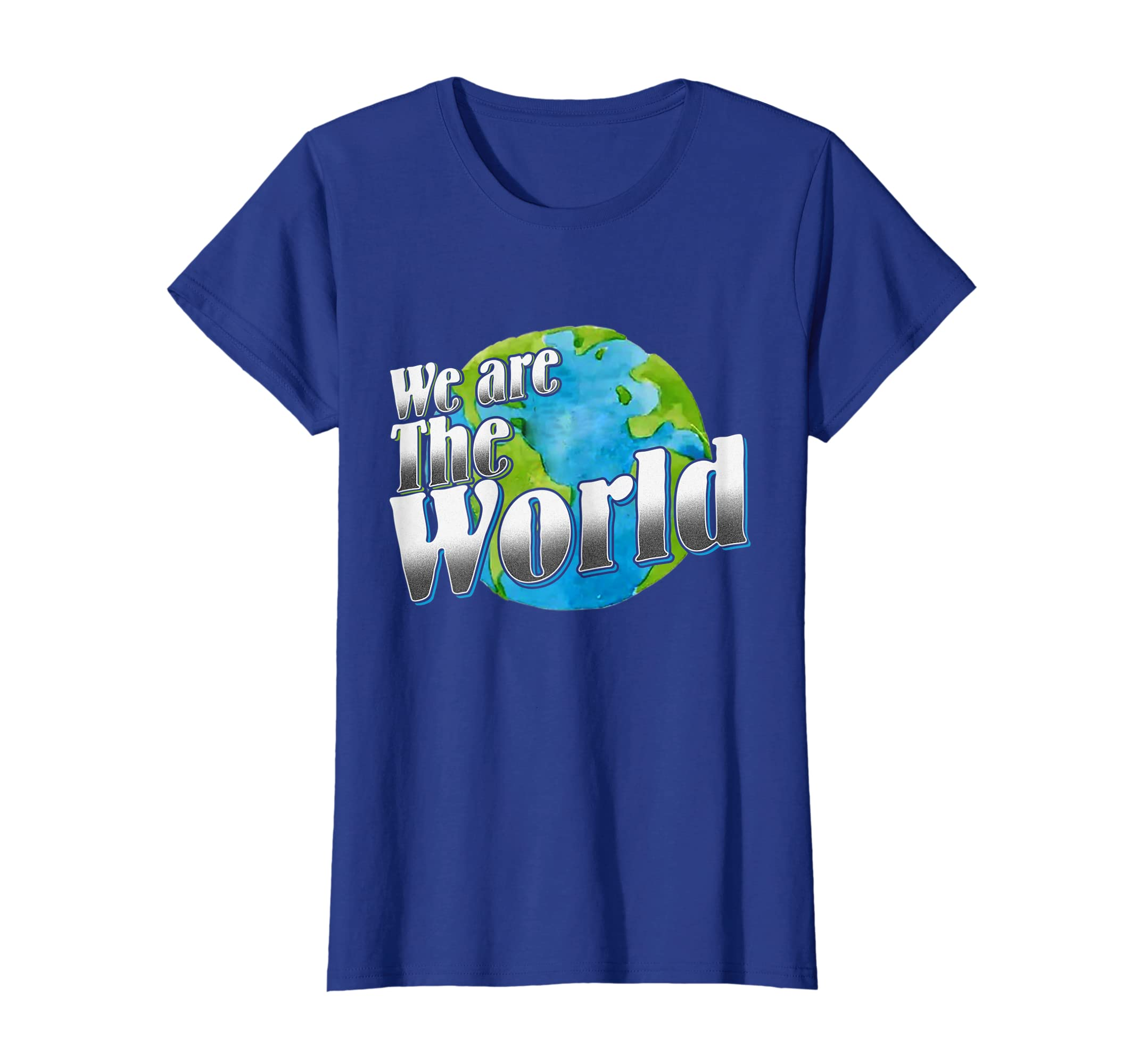 b382f505 Amazon.com: We Are The World T-shirt: Clothing