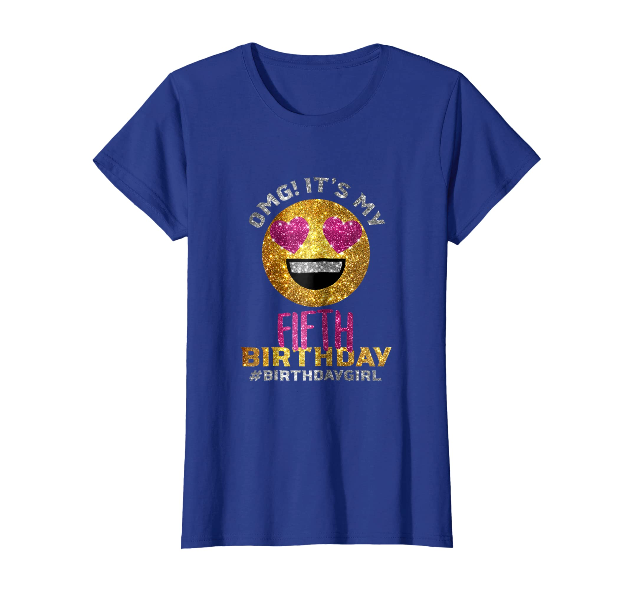 Amazon OMG Its My Fifth Birthday Shirt
