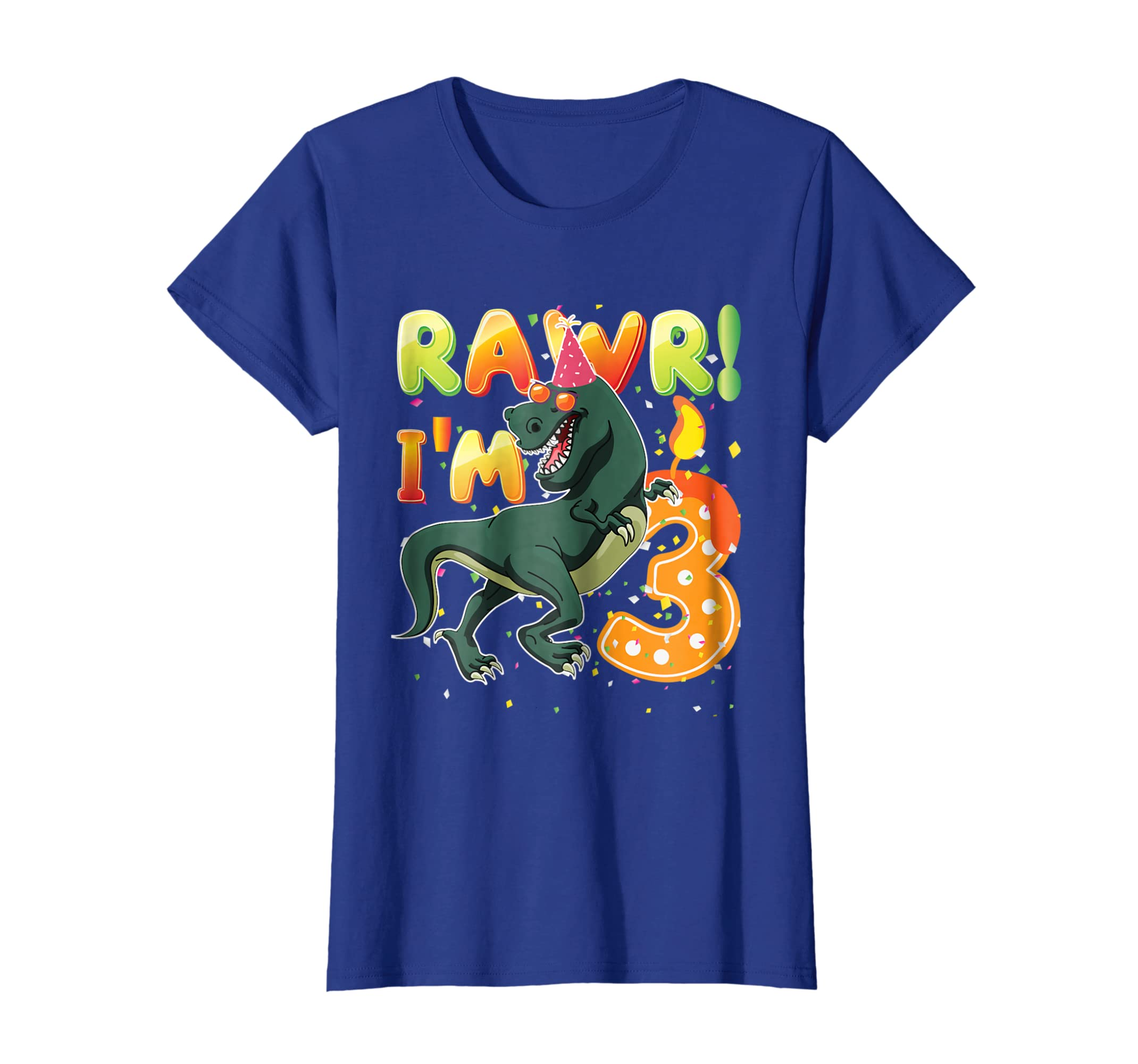 Amazon Dinosaur Birthday Shirt 3 Years Old Rawr Im T Clothing