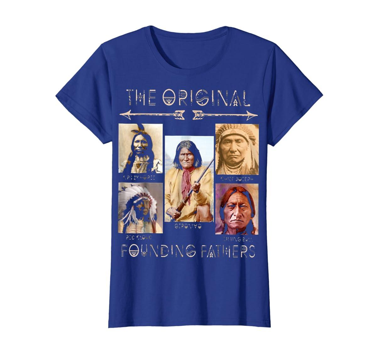 the original founding fathers native classic shirt-Women's T-Shirt-Royal