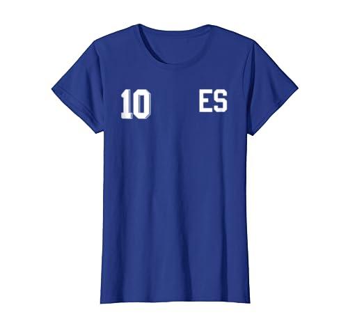 Amazon.com: Retro El Salvador Soccer Jersey Camiseta de ...