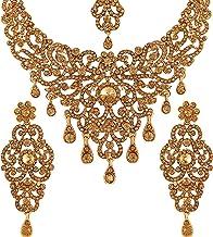 Vatsalya Creation Gold Traditional Diamond Necklace Set