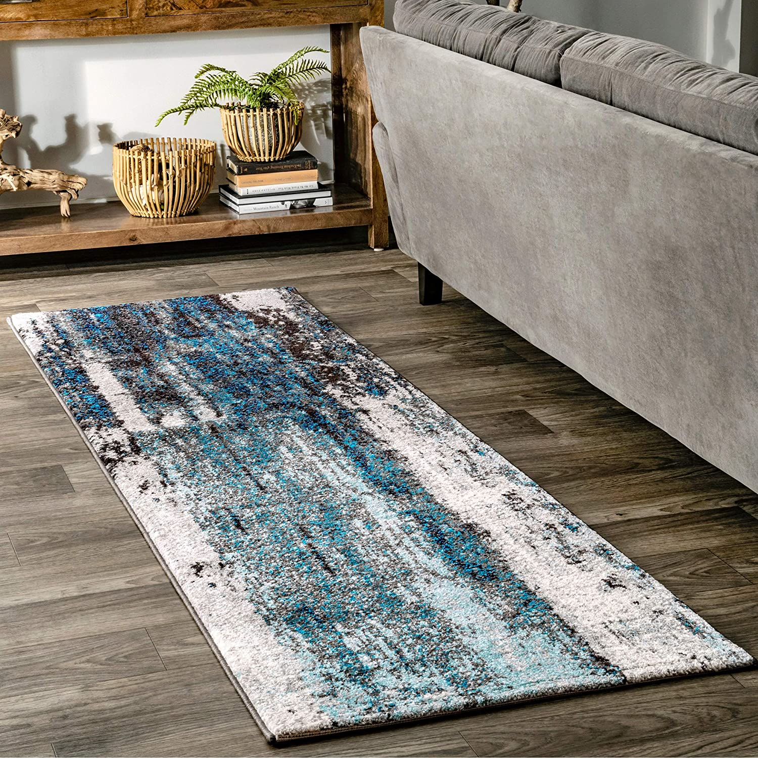 nuLOOM Haydee Abstract Runner Rug 2' We OFFer at cheap prices 6