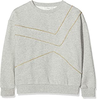 Name IT NOS meisjes sweater NKFSOFIA LS SWEAT BRU