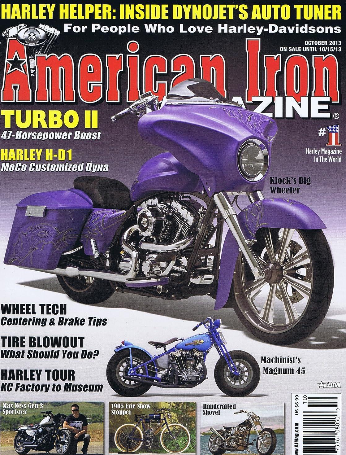 マイク感謝している適合するAmerican Iron Magazine [US] October 2013 (単号)