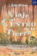 Viaje al Centro de la Tierra para estudiantes de español. Libro de lectura fácil nivel A2: Ilustrado (Read in Spanish nº 8) (Spanish Edition)
