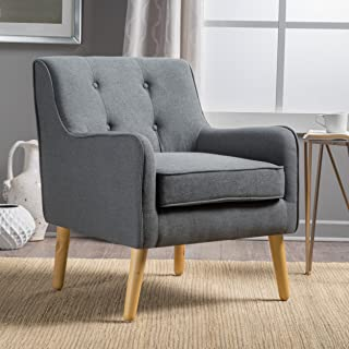 Christopher Knight Home Felicity Arm Chair, Charcoal