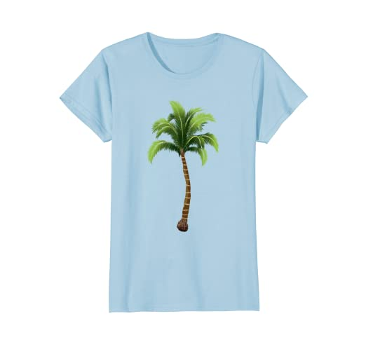 89f42319 Amazon.com: Palm Tree T Shirt for Girls for Fun on the Beach or ...