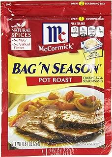 McCormick Bag 'n Season Pot Roast Cooking & Seasoning Mix, 0.81 oz