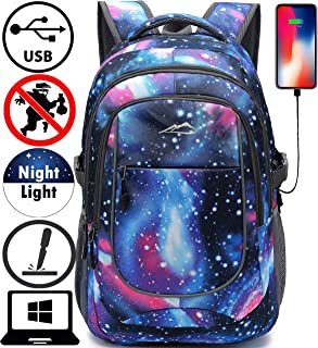 Backpack For School College Student Laptop Bookbag Travel Business with USB Port