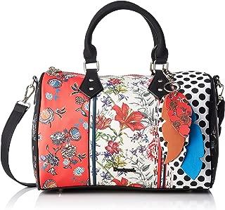 Desigual Bols_tripatch Bowling, Women's Bag, Red (Carmin), 18x21.2x30.5 cm (B x H T)