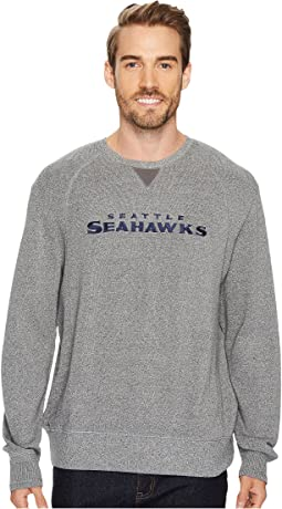 Tommy Bahama - Seattle Seahawks NFL Stitch of Liberty Crew Sweatshirt