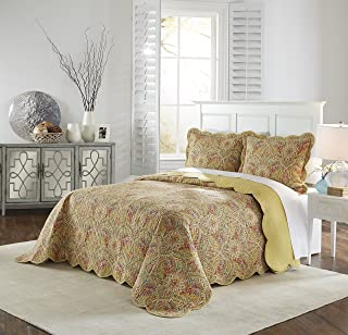 Waverly Swept Away Bedspread Collection, Queen