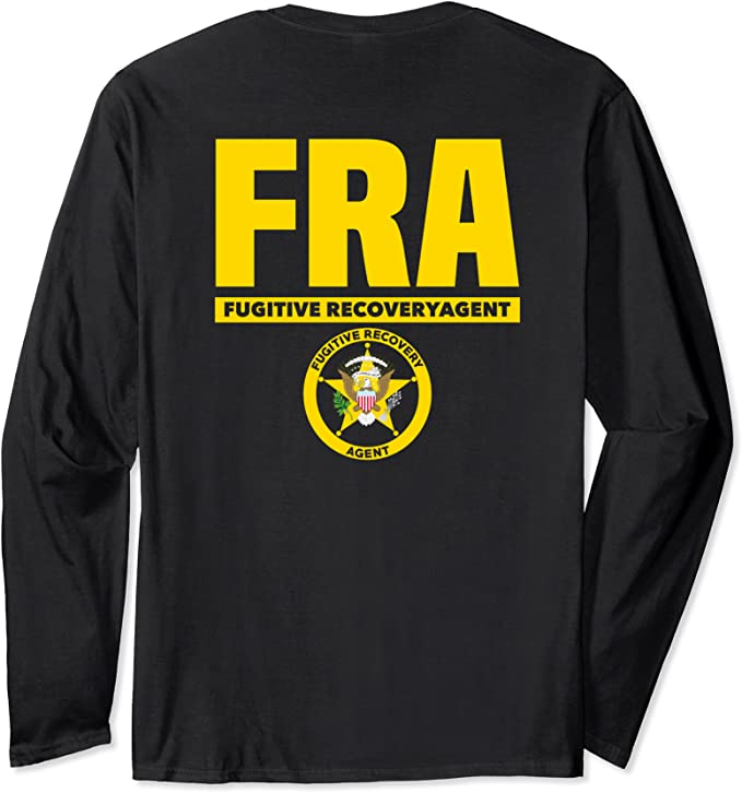 Fugitive Recovery Agent Polo Shirt M-5X Police Sheriff Fugitive Bounty Hunter