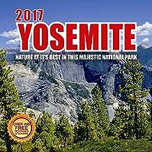 2017 Yosemite Calendar- 12 x 12 Wall Calendar - 210 Free Reminder Stickers