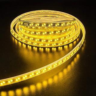 Sister-A LED Strip Light 5730 Waterproof IP65 SMD 10M 120LEDs/Meter AC 220V for Home Lighting Kitchen Bed Flexible Strip L...