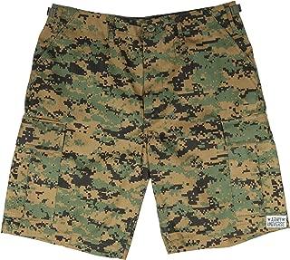 Army Universe Mens Military Cargo BDU Shorts Tactical 6 Pocket Army Uniform Work Shorts Pin