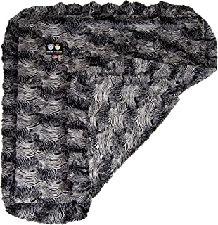 product image for BESSIE AND BARNIE Arctic Seal Luxury Ultra Plush Faux Fur Pet, Dog, Cat, Puppy Super Soft Reversible Blanket (Multiple Sizes)