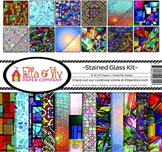 Best stained glass paper Reviews