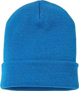 Soft-Knit Turn Up Beanie Hat - Slouchy Beanie Hat