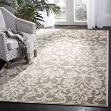 Safavieh Amherst Collection AMT424S Wheat and Beige Indoor/ Outdoor Area Rug (2'6
