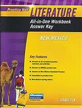 Prentice Hall Literature Grade Ten: All-in-One Workbook Answer Key NM Edition